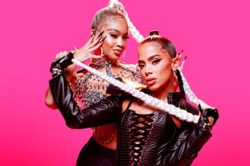 Anitta lanzó canción con Saweetie.