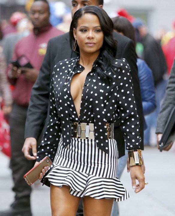 Christina-Milian-Braless-11
