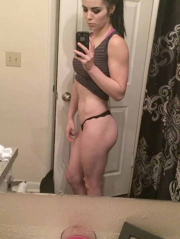 WWE Paige The Fappening new leaked anal dildo masturbation selfies
