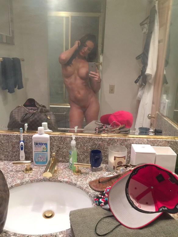 Fitness model Whitney Johns nude photos leaked from iCloud The Fappening