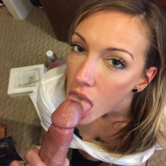 Katie Cassidy nude blowjob photos