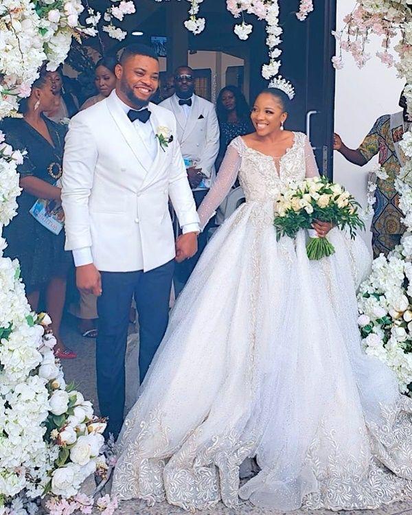 Sandra Ikeji and Arinze