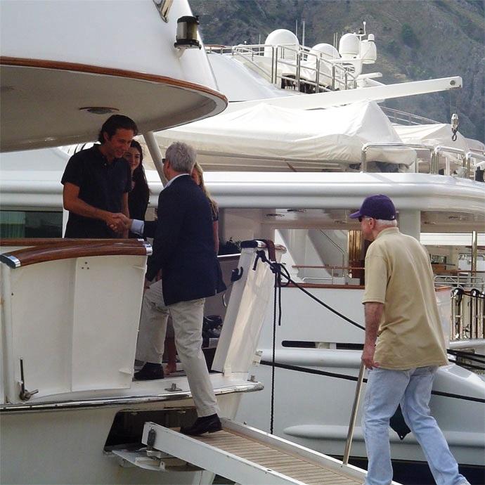 John McCain Seen On Luxury Yacht With A Smiling Follieri