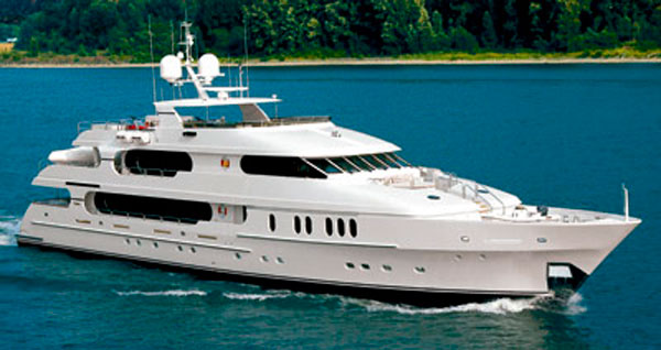 Beautiful 47m Motor Yacht PRIVACY Owned By Tiger Woods