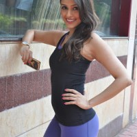 Aarti Chabria Looks Sexy In Tight Clothes At The Inauguration Ceremony Of Country Club's Fitness Gym