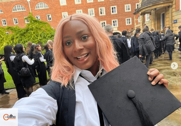 Photo of DJ Cuppy's Matriculation Ceremony At Oxford University