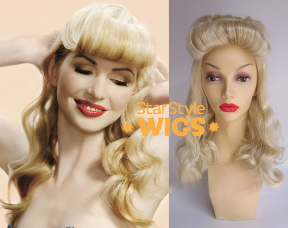 Blonde Pin Up Wig