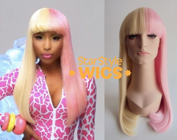 Nicki Minaj Two Tone Wig