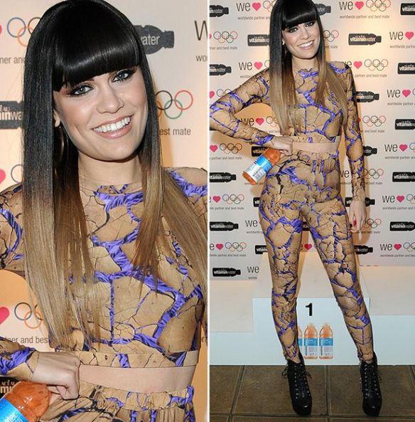 Jessie J Two Tone Wig