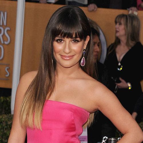Lea Michele Hair 2013