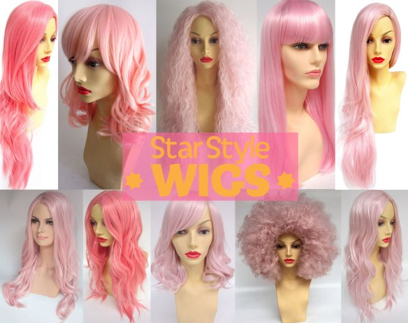 Pastel Wigs