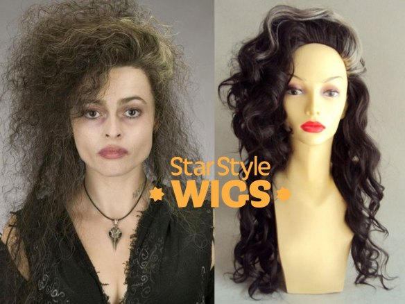 Bellatrix Lestrange Adult Wig