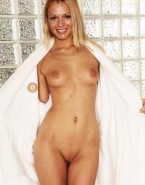 A J Cook Nude Body Flashing Tits 001