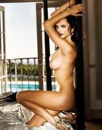Alessandra Ambrosio Legs Sideboob Naked Fake 001