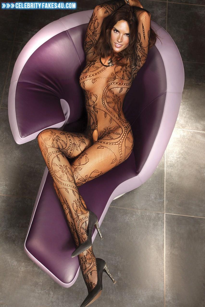 All became Alessandra ambrosio nude fake