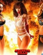 Alexa Vega Machete Kills Lingerie Naked 001