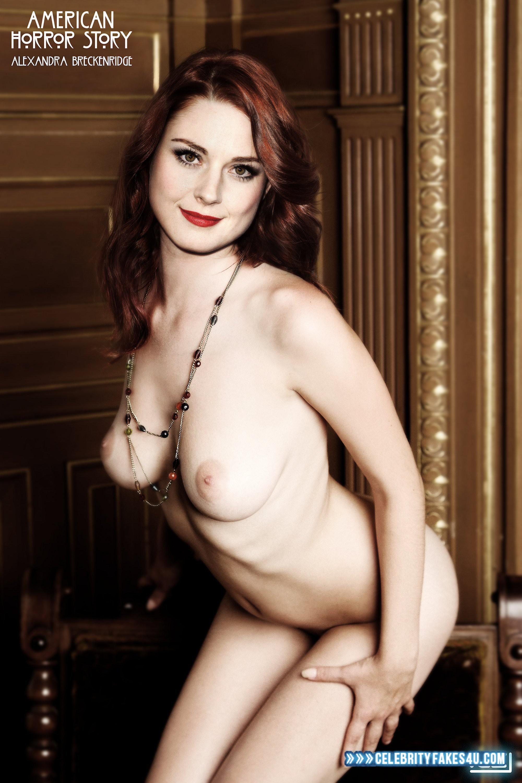 Alexandra Breckenridge Fake, Lipstick, Nude, Tits, Porn