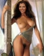 Ali Landry Hairy Pussy Nude Body 001