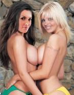 Ali Landry Lesbian Topless Porn 001