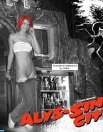 Alyson Hannigan See Thru Panties Down Porn 001