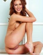 Alyssa Milano Ass Pussy Porn 001