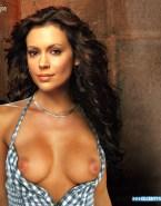 Alyssa Milano Exposed Breasts Nude 001