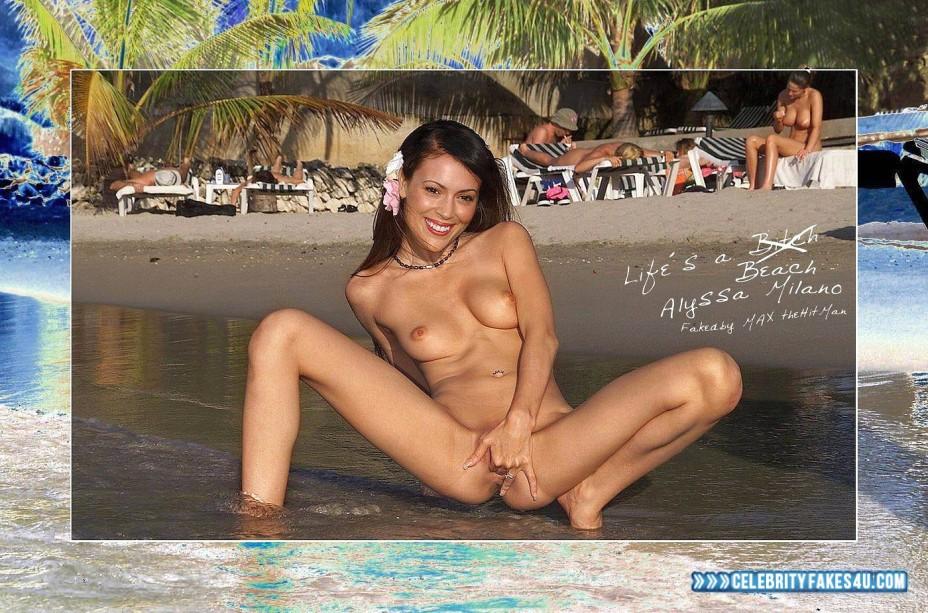 Alyssa milano nude porn pics leaked, xxx sex photos