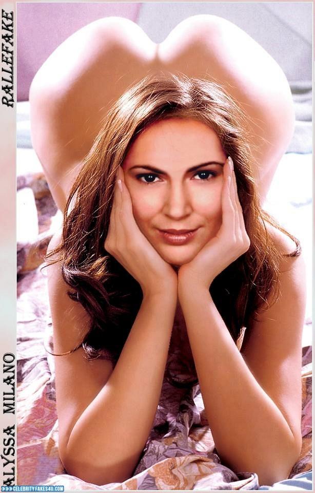 Alyssa Milano Nude Ass 001 « Celebrity Fakes 4U