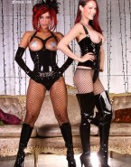 Amanda Righetti Hot Outfit Lesbian Naked 001