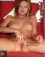 Amanda Seyfried Sex Toy Juicy Pussy Porn Fake 001
