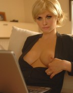 Amanda Tapping Exposes Her Boobs 001