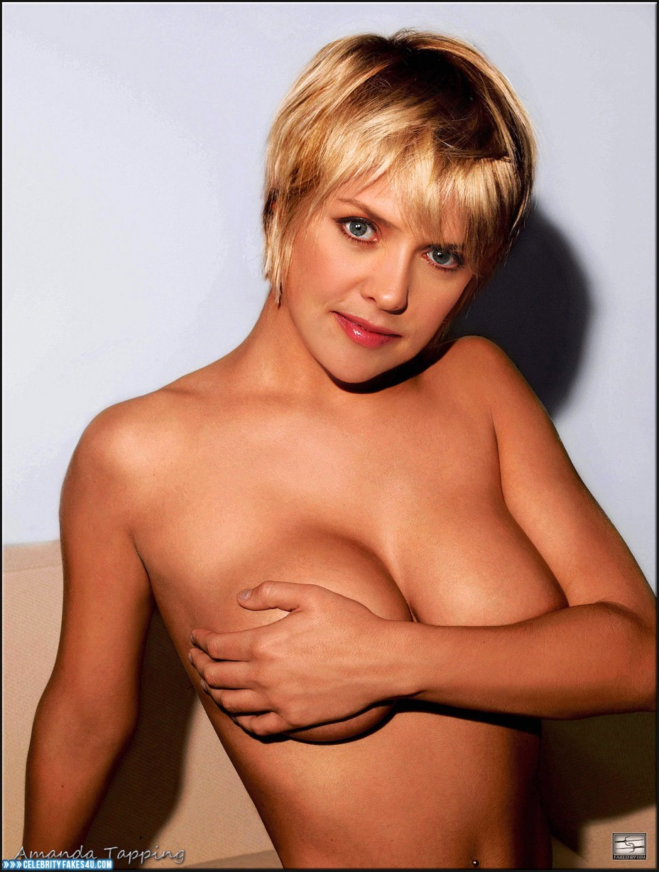 Amanda Tapping Boobs amanda tapping great tits boobs squeezed fakes 001