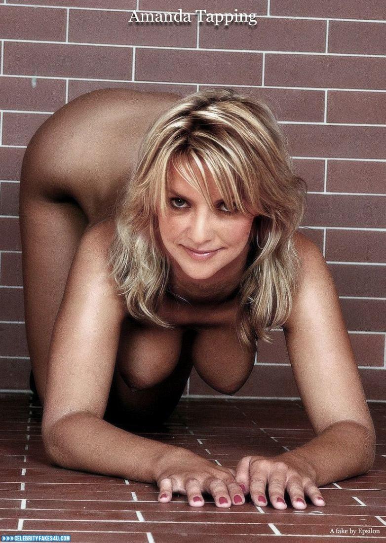 Amanda Tapping Fake, Horny, Tits, Porn