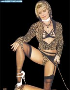 Amanda Tapping Hot Outfit Lingerie Nudes 001