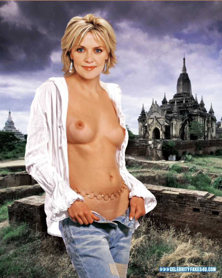 Naked teryl rothery in the guard ancensored