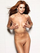 Amy Adams Fully Nude & Rubbing Her Hard Nipples Fake
