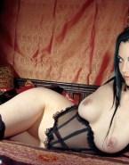Amy Lee Lingerie Pierced Nipples Porn 001