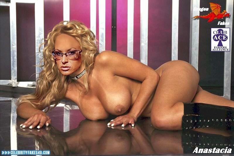 Anastacia Fake, Big Tits, Blonde, Glasses, Horny, Tits, Porn