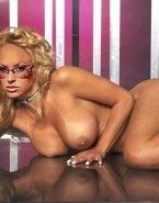 Anastacia Glasses Big Tits Naked Fake 001