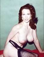 Andie MacDowell Sexy Stockings Tits Fake