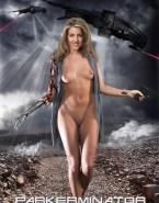 Andrea Parker Naked Body Boobs Fake 004