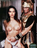 Angelina Jolie Breasts Rubbing Vagina Porn 001