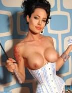 Angelina Jolie Lingerie Boobs Nude 001