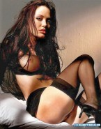 Angelina Jolie Lingerie Tits Nudes 001