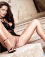 Angelina Jolie Lingerie Vagina Legs Spread 001