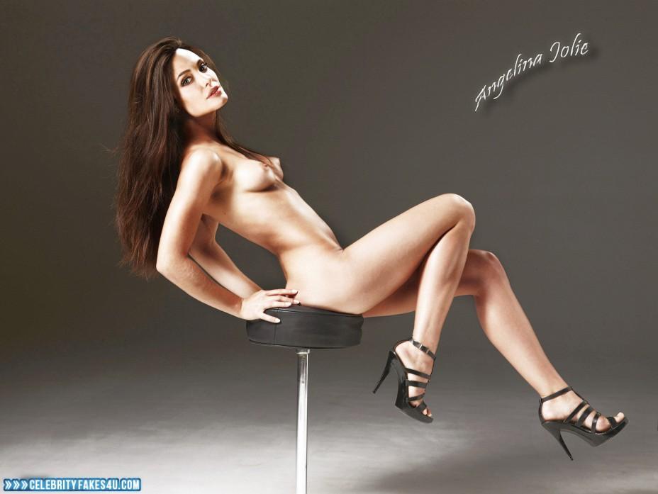 Angelina Jolie Fake, Legs, Naked Body, Nude, Porn