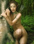 Angelina Jolie Nudes Outdoors 001