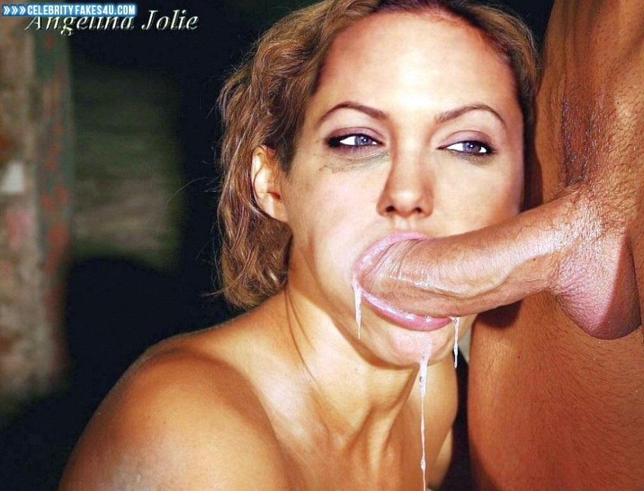 Angelina jolie blowjob pics Am besten dick saugende Frauen