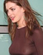 Anne Hathaway Public See Thru 002