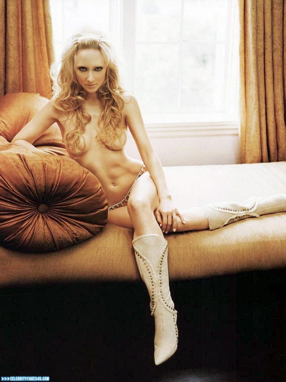 Anne Heche Fake, Blonde, Horny, Knee-High Boots, Nude, Tits, Porn